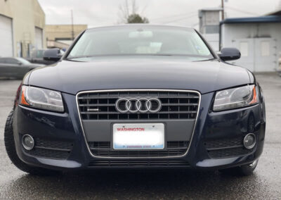 Audi A5 after collision repair Seatac